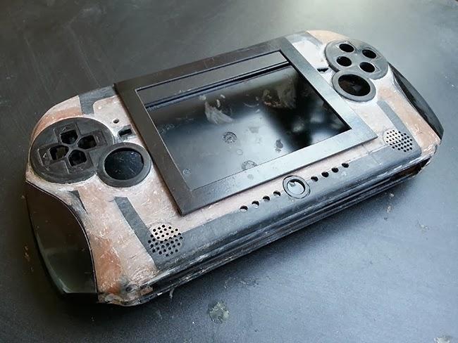 Hộp đựng cầm tay tự làm PS2