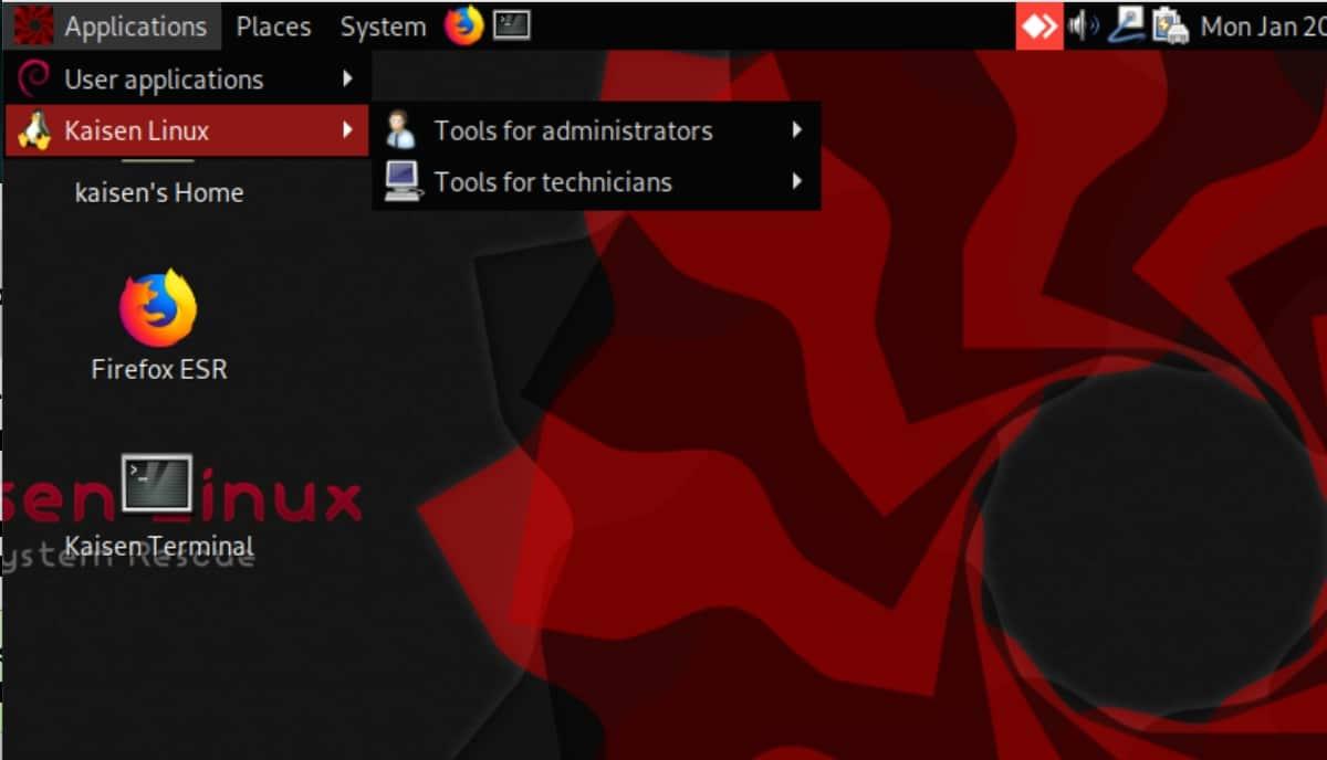 công cụ linux kaisen