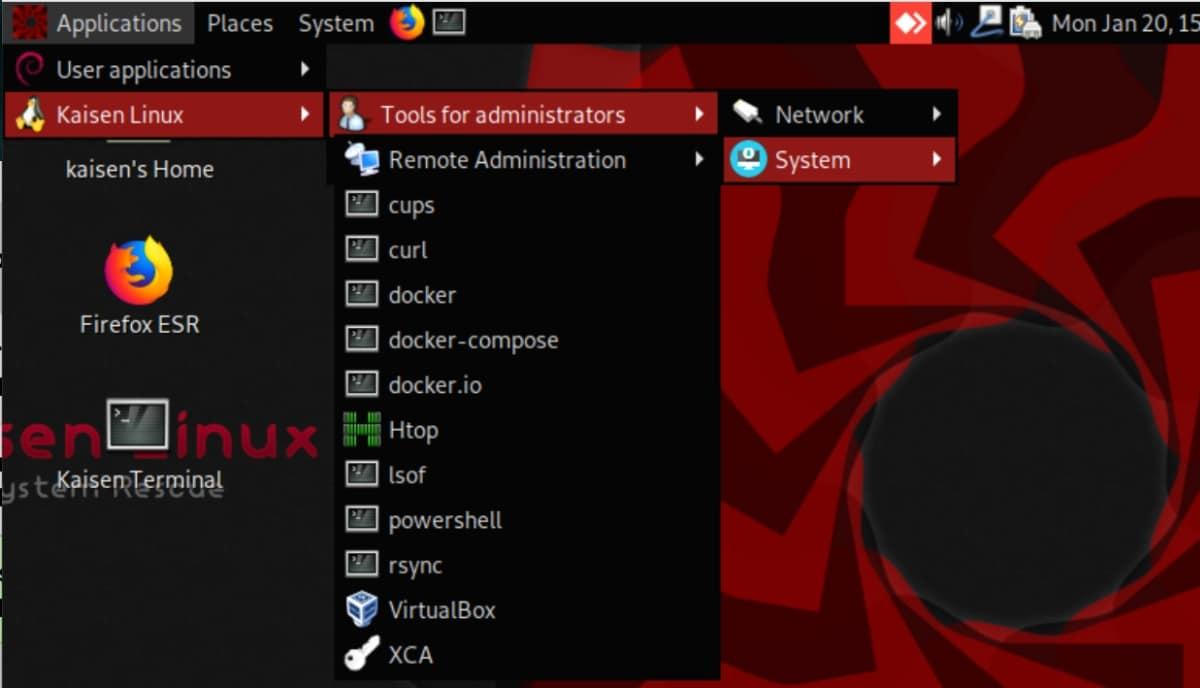công cụ quản trị kaisen linux