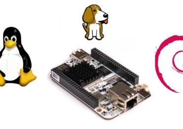 AI BeagleBoard hỗ trợ Linux đi kèm với Debian Out-of-the-box